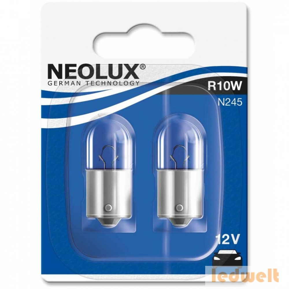Neolux Standard N245 R10W 12V BA15s 2db/bliszter