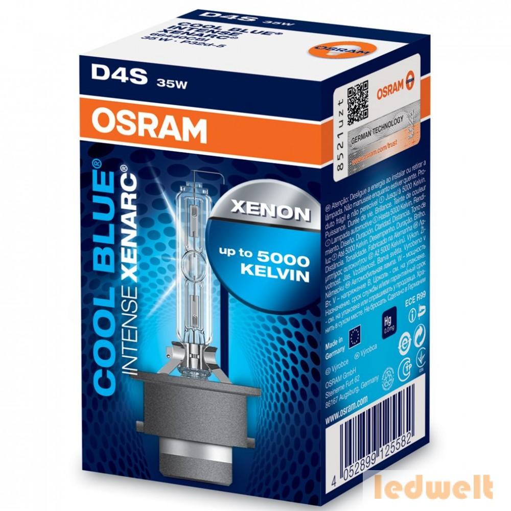 Osram Xenarc Cool Blue Intense 66440CBI D4S xenon lámpa