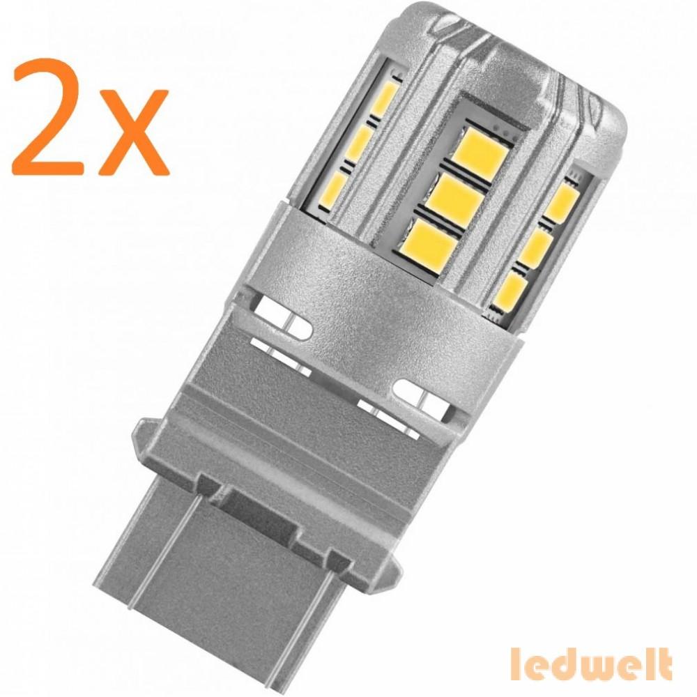 Osram LEDriving Standard 3547R-02B W2,5x16q P27/7W (3157A) 2db/bliszter