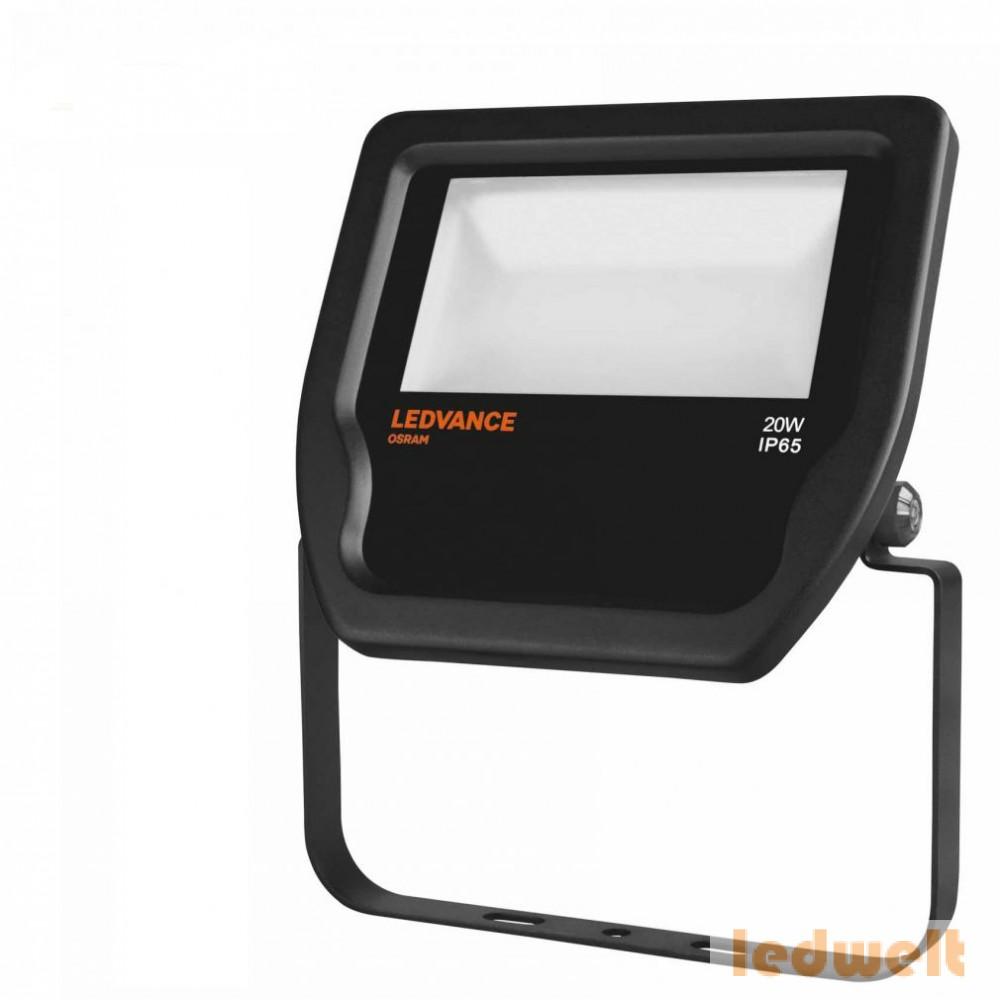 LEDVANCE Floodlight LED 20W 2000lm 3000K IP65 fekete