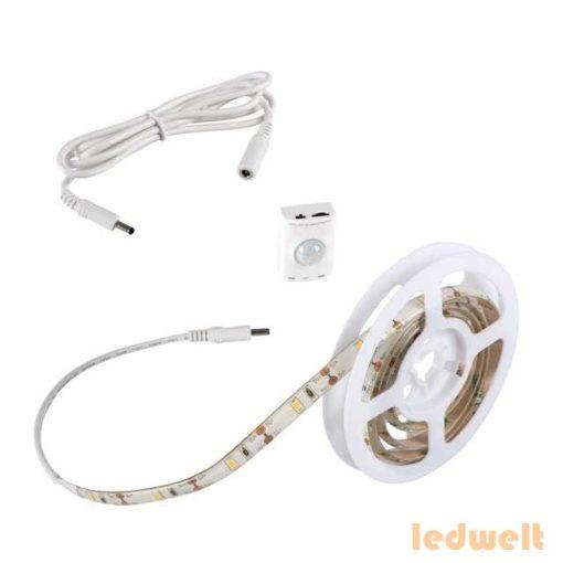 Kanlux LED szett kültéri: szenzor+akku 1 méter meleg fehér