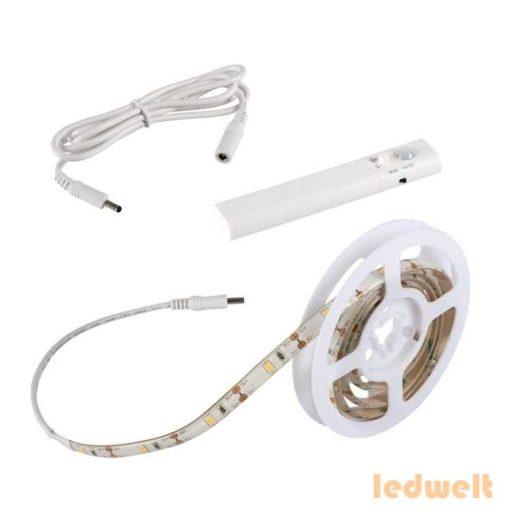 Kanlux LED szett kültéri: szenzor+elem 1 méter meleg fehér