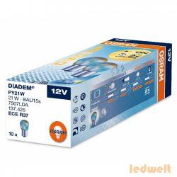 Osram Diadem 7507LDA PY21W BAU15s jelzőizzó 10db/csomag