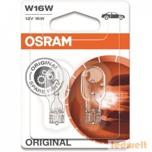 Osram Original 921-02B W16W 12V jelzőizzó 2db/bliszter