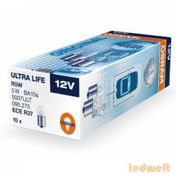 Osram Ultra Life 5007ULT R5W BA15s jelzőizzó 10db/csomag