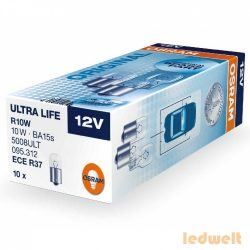 Osram Ultra Life 5008ULT R10W jelzőizzó 10db/csomag