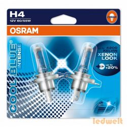 Osram Cool Blue Intense 64193CBI-02B H4 60/55W 2db/bliszter