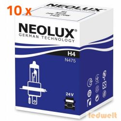 Neolux N475 H4 izzó 24V 10db/csomag