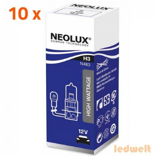 Neolux Power Rally N483 H3 izzó - offroad  10db/csomag