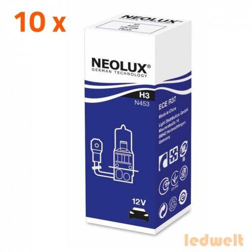 Neolux Standard N453 H3 izzó 12V 10db/csomag