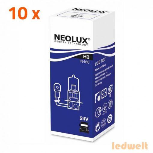 Neolux N460 H3 izzó 24V 10db/csomag