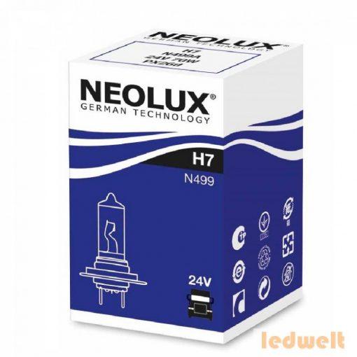 Neolux N499A H7 izzó 24V
