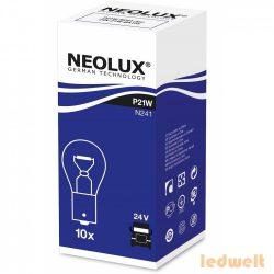 Neolux N241 P21W izzó 24V jelzőizzó 10db/csomag