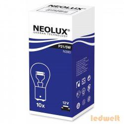 Neolux N380 P21/5W BAY15d 12V jelzőizzó 10db/csomag