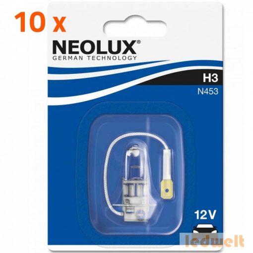 Neolux Standard N453 H3 izzó bliszter 10db/csomag