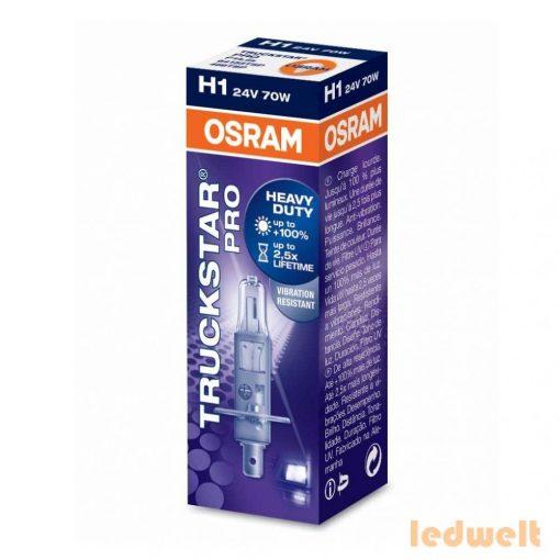 Osram Truckstar Pro 64155TSP H1 izzó 24V dobozos