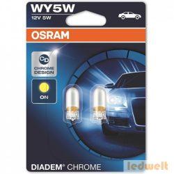 Osram Diadem Chrome 2827DC WY5W jelzőizzó 2db/bliszter