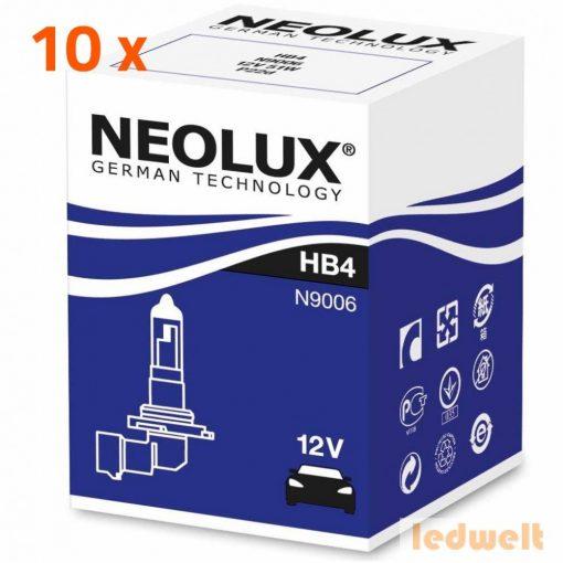 Neolux Standard N9006 HB4 izzó 12V 10db/csomag