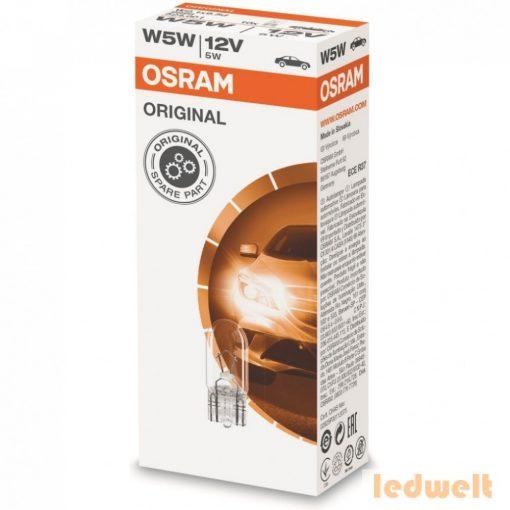 Osram Original Line 2825 W5W izzó 10db/csomag