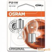 Osram Original Line 7506-02B P21W jelzőizzó 2db/bliszter