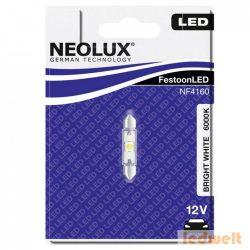 Neolux NF4160 12V 6000K 41mm szofita LED