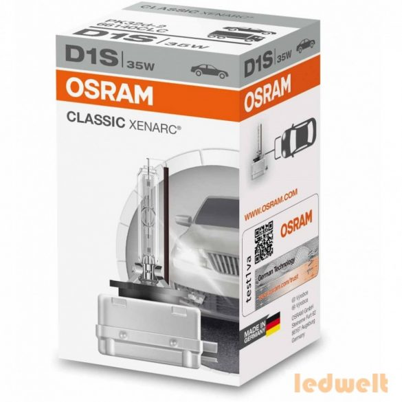 Osram Xenarc Classic 66140 D1S xenon izzó