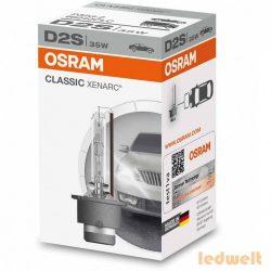 Osram Xenarc Classic 66240 D2S xenon izzó - 2év garancia