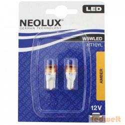 Neolux NT10YL W5W LED amber 2db/bliszter