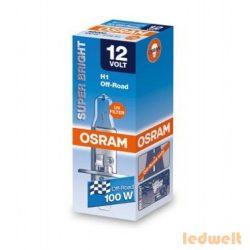 Osram Offroad Super Bright Premium 62200SBP H1 izzó 100W dobozos