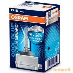 Osram Xenarc Cool Blue Intense 66140CBI D1S xenon izzó - 1év garancia