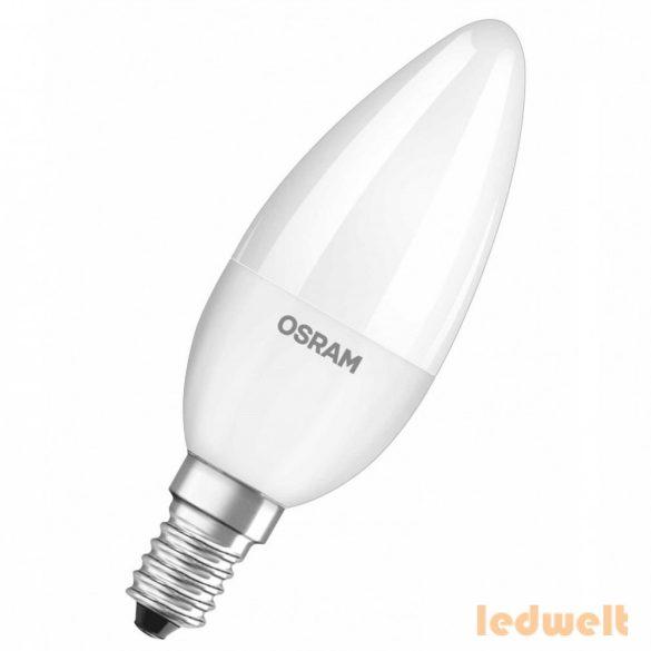 Osram CL B 40 5,7W/2700K E14 470lm LED - 40 Wattos izzó kiváltására
