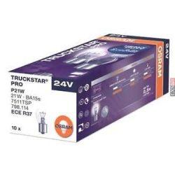 Osram Truckstar Pro 7511TSP P21W 24V BA15s dobozos