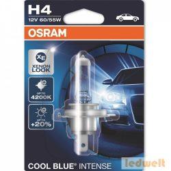 Osram Cool Blue Intense 64193CBI-01B H4 izzó 60/55W bliszter