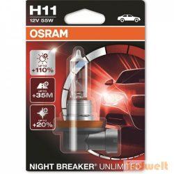 Osram Night Breaker Unlimited 64211NBU H11 +110%