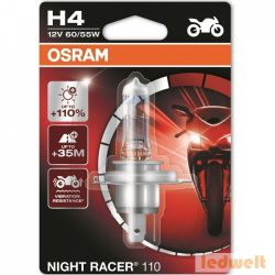 Osram Night Racer 110 64193NR1-01B H4 +110% bliszter