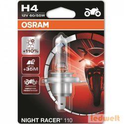 Osram Night Racer 110 64193NR1-01B H4 izzó +110% bliszter