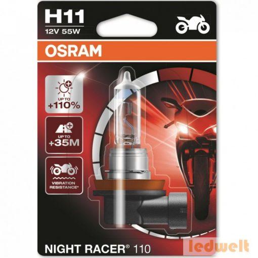 Osram Night Racer 110 64211NR1-01B H11 izzó +110% bliszter
