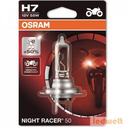 Osram Night Racer 50 64210NR5-01B H7 +50% bliszter