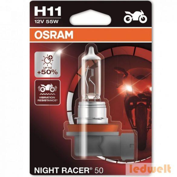 Osram Night Racer 50 64211NR5-01B H11 izzó +50% bliszter