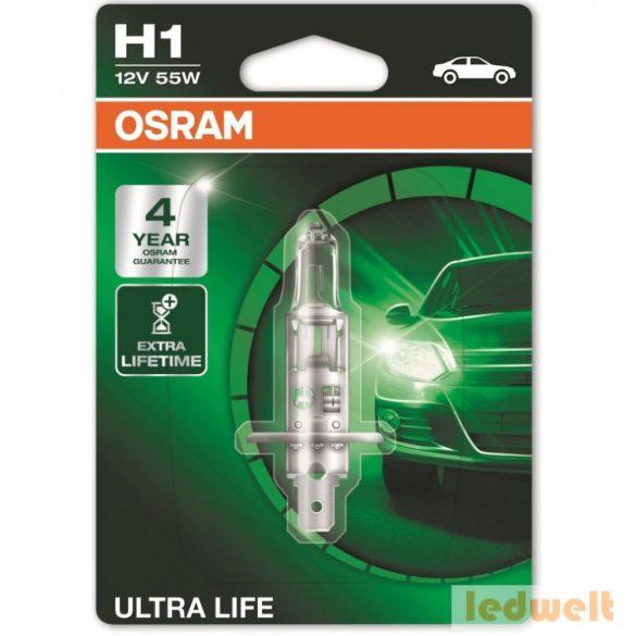 Osram Ultra Life 64150ULT-01B H1 izzó bliszter