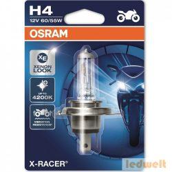 Osram X-Racer 64193XR-01B H4 izzó motorkerékpár 12V bliszter