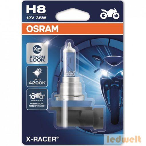 Osram X-Racer 64212XR H8 izzó motorkerékpár bliszter