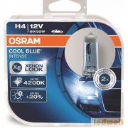 Osram Cool Blue Intense 64193CBI H4 izzó 60/55W 2db/csomag