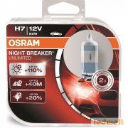 Osram Night Breaker Unlimited 64210NBU H7 izzó +110% 2db/csomag