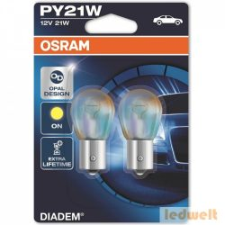 Osram Diadem 7507LDA PY21W BAU15s jelzőizzó 2db/bliszter