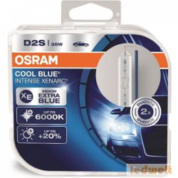 Osram Xenarc Cool Blue Intense 66240CBI-HCB D2S xenon izzó 2db/csomag