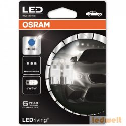 Osram LEDriving Premium 2850BL W5W izzó 6800K Ice Blue 2db/bliszter