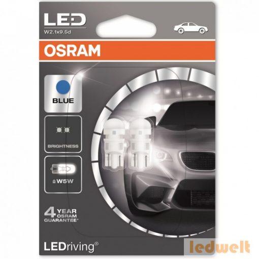 Osram LEDriving Standard 2880BL-02B Blue W5W LED 2db/bliszter