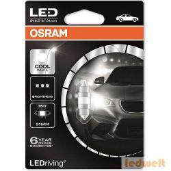 Osram LEDriving Premium 6497CW C3W 6000K 31mm