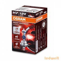 Osram Night Breaker Laser H7 izzó +130% dobozos